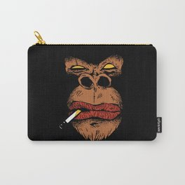 ANGRY GORILLA T-SHIRT DESIGN GIFT Carry-All Pouch