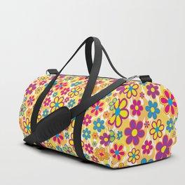 Bright Flowers Duffle Bag