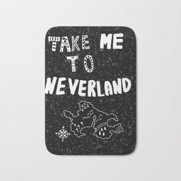 Take me to Neverland Bath Mat