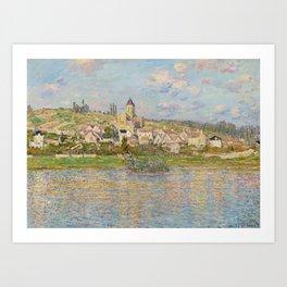 Vetheuil by Claude Monet Art Print