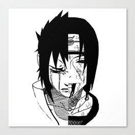 Sasuke and Itachi - Naruto Canvas Print