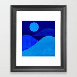 Abstraction_Moonlight Framed Art Print