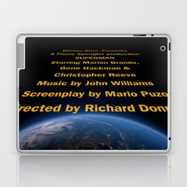 Superman cast & crew Laptop & iPad Skin