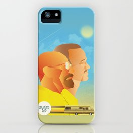 Breaking Bad Retro Design Graphic  iPhone Case