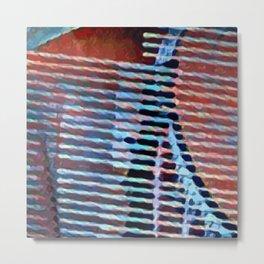 The String Sleep Metal Print