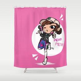 Casual DVa Shower Curtain