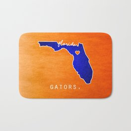 Gators Bath Mat