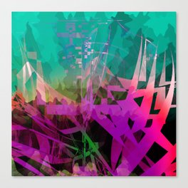 somethin' strange. in the forest Canvas Print