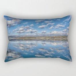 MIRROR LAKE Rectangular Pillow