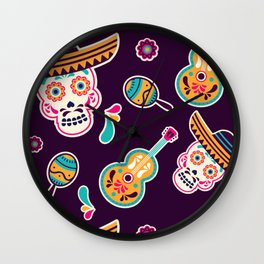 Cinco de Mayo Wall Clock