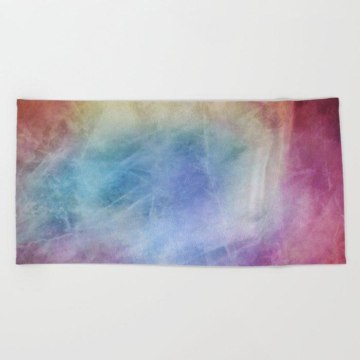 α Diadem II Beach Towel
