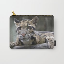 Wild Baby Leopard Carry-All Pouch
