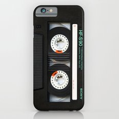 Classic retro sony cassette tape iPhone 4 4s 5 5c, ipod, ipad, tshirt, mugs and pillow case iPhone 6 Slim Case