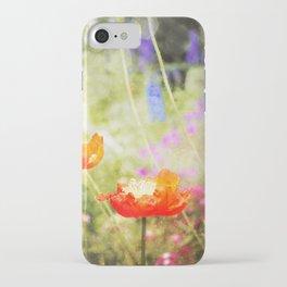 Magic Poppies iPhone Case