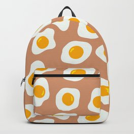 Eggs Pattern (Neutral Beige Background) Backpack