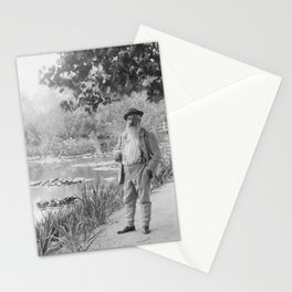 Claude Monet a Giverny Stationery Cards