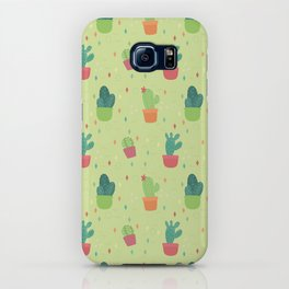 Cactus Party Pattern iPhone Case