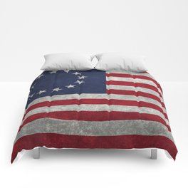 Betsy Ros Flag Comforters