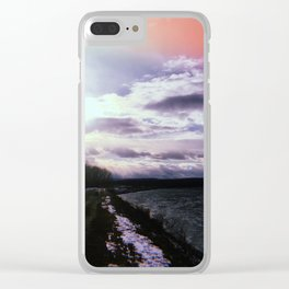 Connecticut River Clear iPhone Case