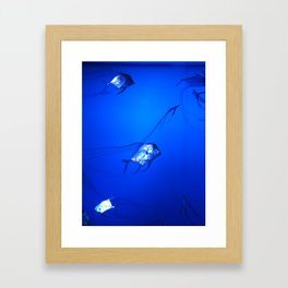 Quirky scales Framed Art Print