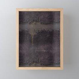 MutchDamage Framed Mini Art Print