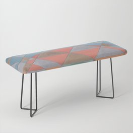 Circles and Triangles Bench