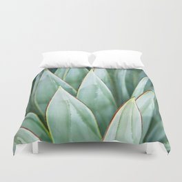 Abstract Agave Duvet Cover