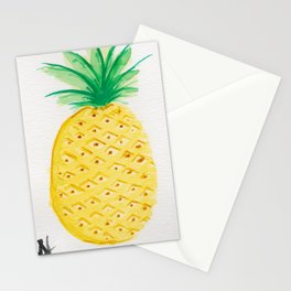 Pineapple1 Stationery Cards