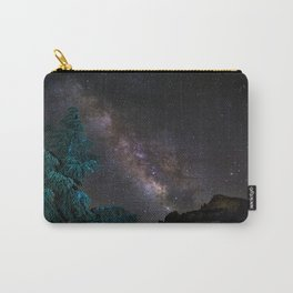 """""""Milky-way at the mountains"""". Summer  Carry-All Pouch"""