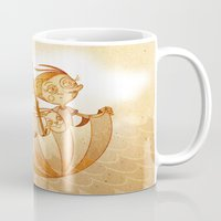 freedom Mugs featuring Freedom by José Luis Guerrero