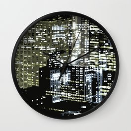 Night City 1 Wall Clock