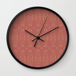 Relic Pattern Wall Clock