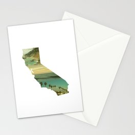 California Collage Stationery Cards