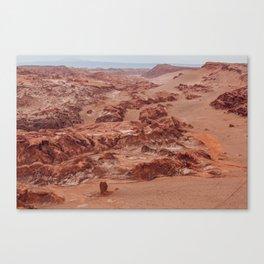 Valle de la Luna, Chile Canvas Print