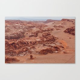 Valle de la Luna, Chile Canvas Print