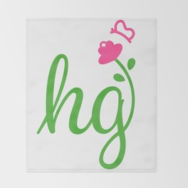HG Sisterhood Logo Throw Blanket