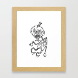 I carry you with me Framed Art Print