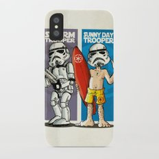 Storm and Sunny Day Trooper Slim Case iPhone X