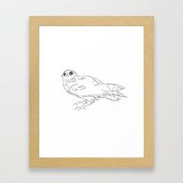 Asio Flammeus Framed Art Print