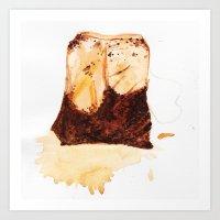 TeaBag Art Print