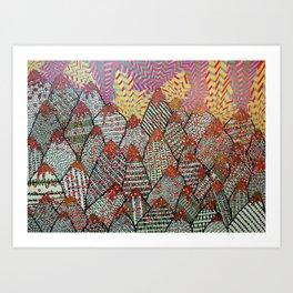 Mount II Art Print