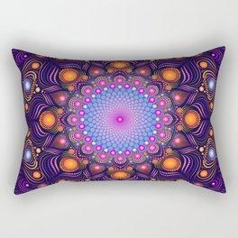 """""""Guardian"""" Mandala painting Rectangular Pillow"""