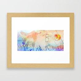 El Gallo Ralph (version très bien) Framed Art Print