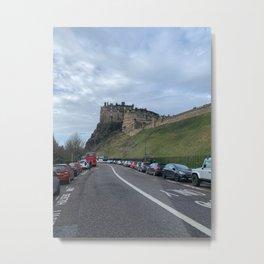 edinburg castle Metal Print