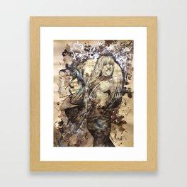 Kate by carographic, Carolyn Mielke Framed Art Print