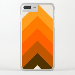 Golden Thick Angle Clear iPhone Case