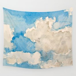 Blue Sky Day Wall Tapestry