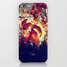 Orange Leafs iPhone 6s Slim Case
