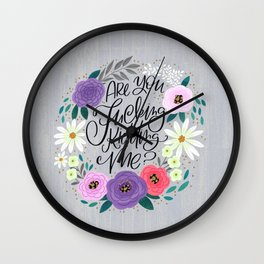 Pretty Sweary 2.0: Are You Fucking Kidding Me? Wall Clock