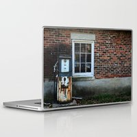 pocket fuel Laptop & iPad Skins featuring Fuel by 100 Watt Photography